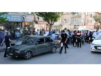 Erzurum'da Kahvehaneye Sopalı Baskın