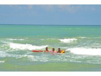 (özel Haber) Sarıyer Kısırkaya Plajı'nda Hareketli Dakikalar