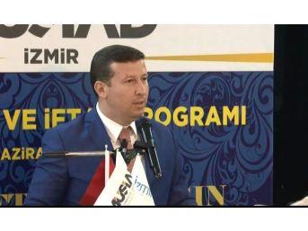 İzmir Müsiad Nostalji İftar Yemeğinde Buluştu