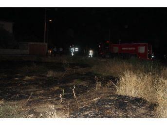 Karaman'da Çıkan Ot Yangını Korkuttu