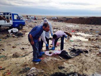 Konya'da Çöplük Alanda Bebek Cesedi Bulundu