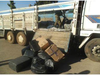Mardin'de 15 Bin Paket Kaçak Sigara Ele Geçirildi