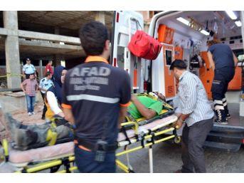 Osmaniye'de İnşaat Çöktü: 7 Yaralı
