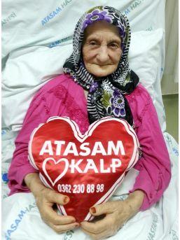 109 Yaşındaki Emine Nineye Kalp Pili Takıldı