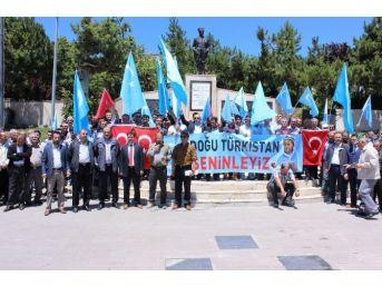 Yozgat'ta Doğu Türkistan'da Türklere Yapılan Zulüm Kınandı