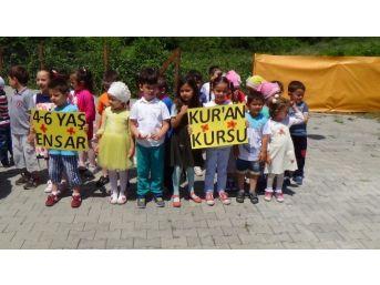 Çaycuma'da Ensar 4-6 Yaş Kur'an Kursunun Açılışı Yapıldı