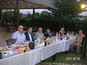 Çaycuma'da Şehit Ve Gazi Aileleri İftar Yemeğinde Buluştu