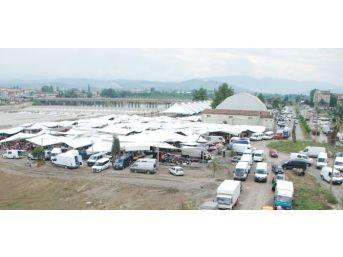 Çaycuma'da Yeni Pazar Yeri Ve Minibüs Terminalinin Açılışı Yapıldı