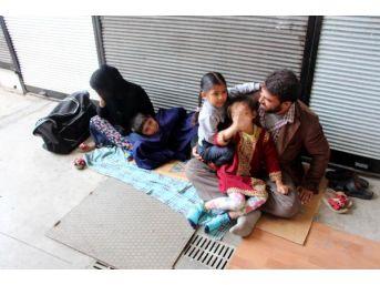 Zonguldak'ta Dilencilik Yapan Suriyeliler