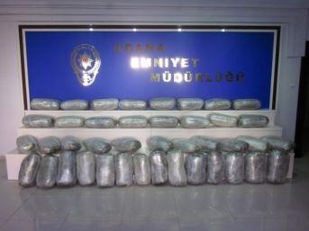 Adana'da Uyuşturucu Operasyonları
