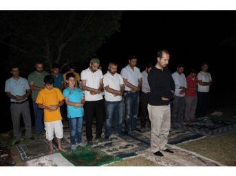Sıngıtur Dağı'nda Teravih Namazı Kılındı
