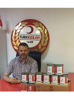Kızılay Simav Şubesi Kavurma Dağıttı