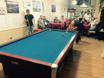 Çaycuma'da 3 Bant Bilardo Turnuvası Yapıldı