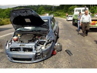 Zonguldak'ta Kaza: 4 Yaralı