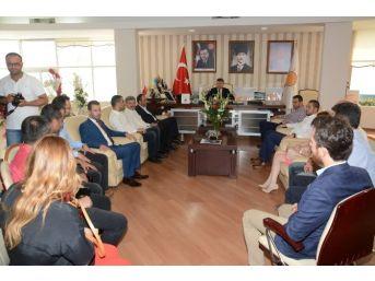 Chp Ve Dp'den Ak Parti'ye Bayram Ziyareti