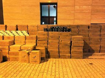Minibüsten 67 Bin 500 Paket Kaçak Sigara Çıktı