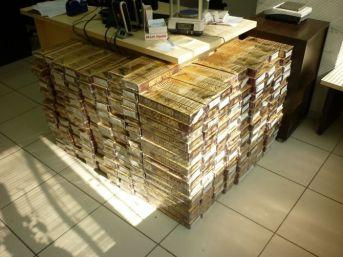 Bir Günde 3 Operasyon, 55 Bin Paket Kaçak Sigara