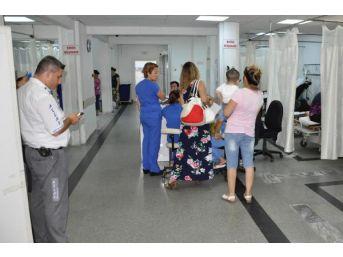 Milas'ta 17 Işçi Hastaneye Kaldırıldı