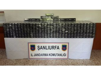Şanlıurfa'da 14 Bin Paket Kaçak Sigara Ele Geçirildi