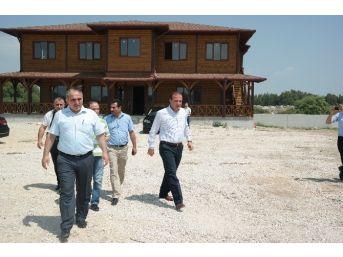 Ceyhan Belediyesi Yeni Park Bahçe Binası İnşaatı Tamamlanıyor