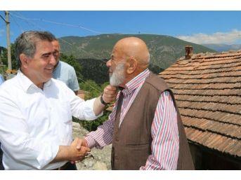 Başkan Özdemir'den Yeşil Yenice'de İnceleme