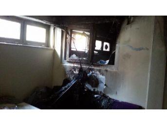 Hastane Laboratuvarında Yangın Korkuttu