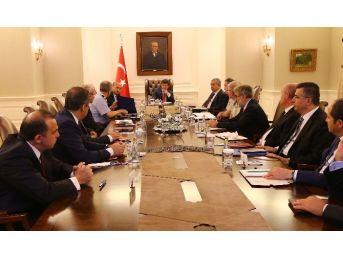 """Çankaya Köşkü'nde """"özel Güvenlik Toplantısı"""" Sona Erdi"""