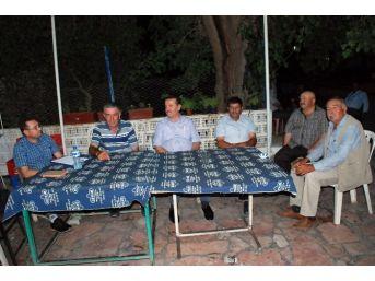 Didim'de Çiftçinin Sorunu Yerinde Dinleniyor