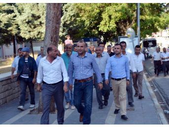 Suruç'taki Terör Saldırısı Silvan'da Kınandı