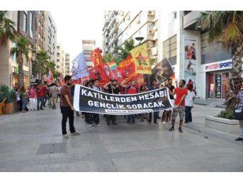 İzmir'de Suruç Eylemi