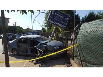 Otomobil İle Kamyon Çarpıştı: 1 Ölü, 1 Yaralı
