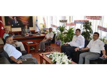 Başkan Şimşek'ten Keleş'e Ziyaret
