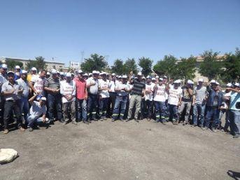 Seydişehir'de Linyit Ocağında 100 Işçi Iş Bıraktı