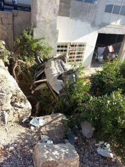 Otomobil Şarampole Düştü: 3 Yaralı