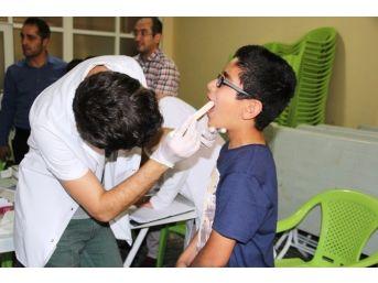 Kur'an Kurslarındaki Çocuklar Sağlık Taramasından Geçirildi