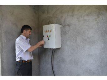Su Kuyusuna Elektrik Bağlanmayan Köyün Susuz Kaldığı İddiası
