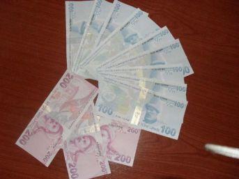 Üzerinden 1500 Tl Sahte Banknot Çıkan Kadın Tutuklandı