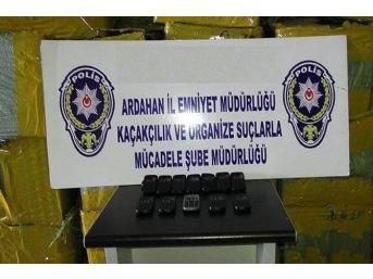 Ardahan'da 25 Bin Kaçak Cep Telefonu Ele Geçirildi