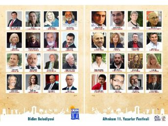 Didim Altınkum 11. Yazarlar Festivali Başlıyor....