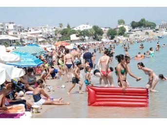 Didim'de Aşırı Sıcaklar Bunalttı