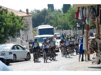 Uluslararası Bisiklet Turu Didim'e Ulaştı