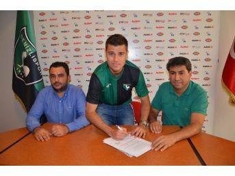 Denizlispor'da Brezilyalı Leozınho İmzaladı