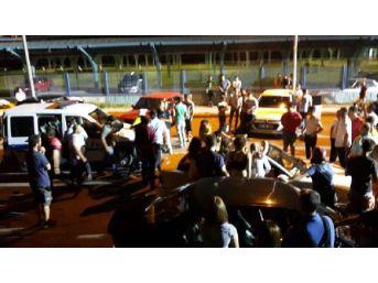 Film Setinde Kız Kavgası: 3 Yaralı, 6 Gözaltı