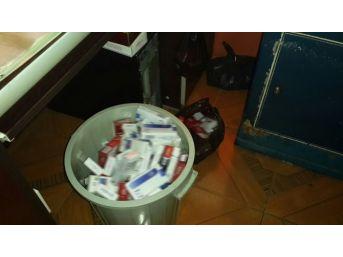 Kaçak Sigara Satıcılarına Operasyon