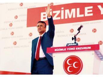 Mhp Milletvekili Kamil Aydın'dan Terör Olaylarına Sert Tepki