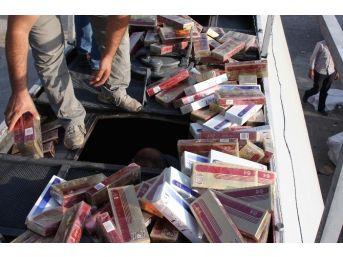 Tankerden Akaryakıt Yerine Kaçak Sigara Çıktı