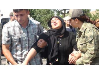 Şehit Uzman Çavuş Ali Gökçe'nin Cenazesinde Gözyaşı Sel Oldu...