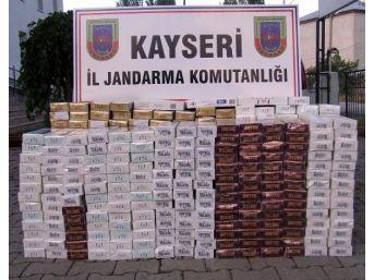 Kayseri'de Uyuşturucu Ve Kaçak Sigaraya 8 Gözaltı