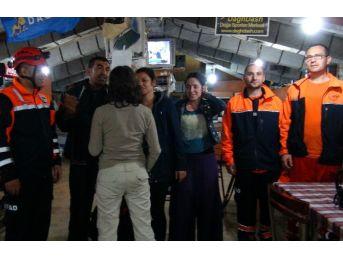 Rize'de Siste Kaybolan Turistler Kurtarıldı