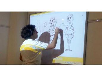Turhan Selçuk Sanat Okulu'nda Usta İşi Eğitim